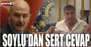 Bakan Soylu'dan Sedat Peker'e yanıt