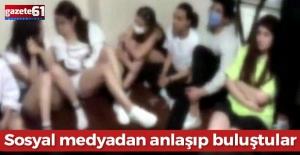 Parti yapılan eve baskın! 80 bin lira ceza kesildi