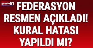 TFF, Fenerbahçe'nin kural hatası başvurusunu...