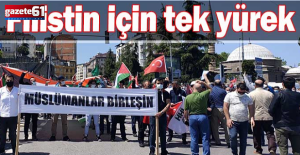 Trabzon Filistin için tek yürek