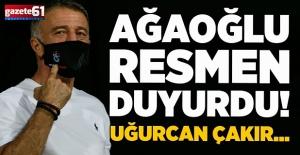 Trabzonspor'da Ahmet Ağaoğlu'dan transfer açıklaması! Uğurcan Çakır...