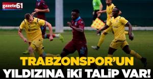 Trabzonspor'un yıldızına 2 talip!