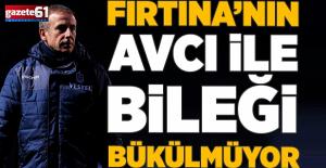 Trabzonspor'unAbdullah Avcıile bileği bükülmüyor