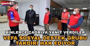 """""""Vefa Sosyal Destek Grubu Takdiri Hak Ediyor"""""""