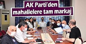 AK Parti'den mahallelere tam markaj