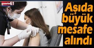 Aşıda büyük mesafe alındı