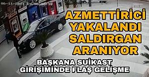 AZMETTİRİCİ YAKALANDI SALDIRGAN...