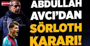 Trabzonspor'da Sörloth için karar verildi!