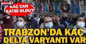 Delta Varyantı Trabzon'a sıçradı