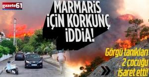 Marmaris'teki yangını '2 çocuk çıkardı' şüphesi