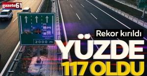 Osmangazi Köprüsüve İzmir-İstanbul Otoyolu'nda geçiş rekoru kırıldı