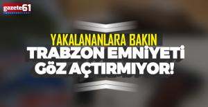 Trabzon Emniyeti uyuşturucuya geçit vermiyor!