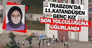 Trabzonda 11. kattan düşen genç...