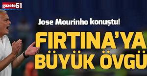 Jose Mourinho#039;dan Trabzonspor#039;a...