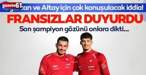 Son şampiyon Lille hem Altay Bayındır'ı hem de Uğurcan Çakır'ı...