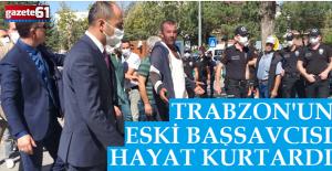 Trabzon#039;un eski başsavcısı...