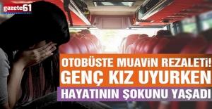 Yolcu otobüsünde cinsel saldırı! Sapık muavin her şeyi itiraf etti