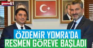 Abdulkadir Özdemir Yomra'da göreve başladı!