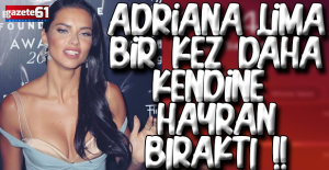 Adriana Lima'dan olay pozlar
