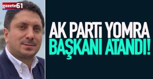 AK Parti Yomra İlçe Başkanı Özdemir Oldu
