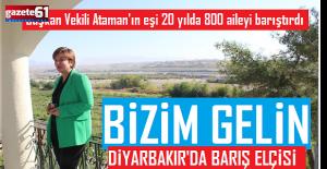 """""""Barış Elçisi"""" Hanım Ağa! 20 yılda 800 aileyi barıştırdı"""