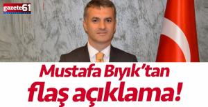 Başkan Bıyık'tan, ilçe başkanı için flaş yorum!