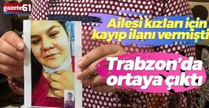 Kayıp ilanı verilen 18 yaşındaki genç kız Trabzon'da ortaya çıktı