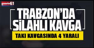 TAKI KAVGASINDA 4YARALI