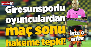 Yok artık Cüneyt Çakır! Giresunspor gole giderken maç bitti