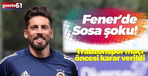 Fenerbahçe'de Sosa şoku!