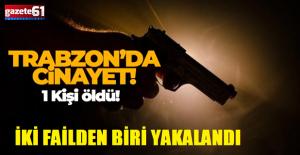 İKİ FAİLDEN BİRİ YAKALANDI