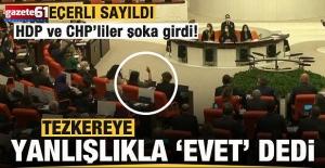 """HDP'li Buldan tezkereye yanlışlıkla """"evet"""" dedi"""
