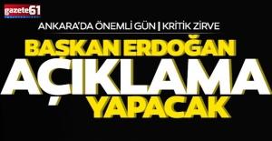 Kabine toplantısında kritik gündem; Gözler Başkan Erdoğan'da
