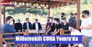 Milletvekili CORA Yomra'da