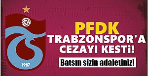 PFDK, Trabzonspor'a cezayı kesti!