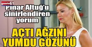 Pınar Altuğ'u kızdıran yorum: Bu benim bedenim!