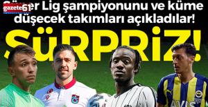 Süper Lig'in şampiyonunu belirlediler!