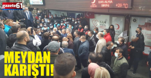 Trabzon'daGerginlik Bakın Neden Çıktı