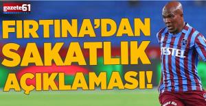 Trabzonspor'dan Nwakaeme açıklaması!