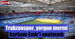 Trabzonspor, yorgun mermi kurbanı Emir Yuşa Atıcı'yı unutmadı