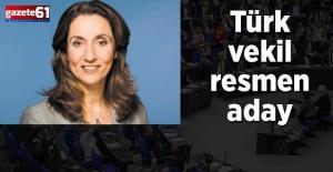 Türk vekil, Alman meclisi başkanvekilliğine aday